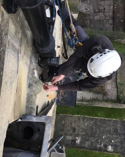 Gas Fitter Abseiling Bath City