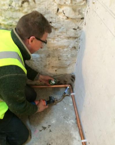 Gas Plumbing Work
